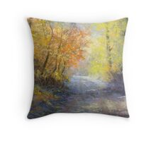 A Tranquil Trail Throw Pillow