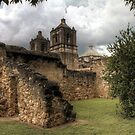 Mission Concepcion - San Antonio, Texas by Terence Russell