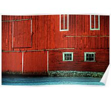 The Broad Side of a Barn Poster