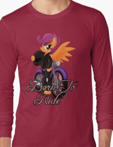 Born to Ride (My Little Pony: Friendship is Magic) Long Sleeve T-Shirt