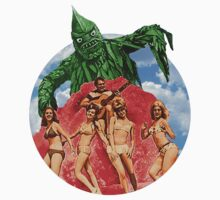 Beach Girls and the Monster T-Shirt