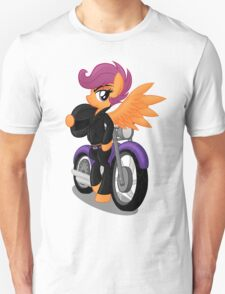 Scootaloo the Greaser (My Little Pony: Friendship is Magic) Unisex T-Shirt