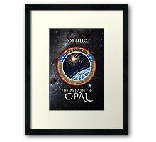 The Breath of Opal Framed Print