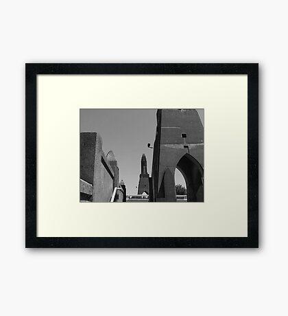 Little Gotham City In Waldport, Oregon Framed Print
