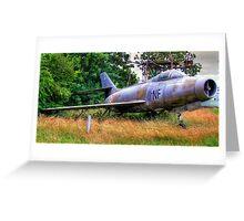 Dassault Mystère IV Greeting Card