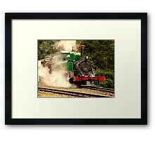 Green Loco Framed Print
