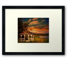 Summer Fling in the Mountains Framed Print