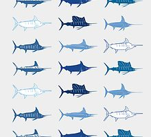Royal Billfish Slam iPhone & iPod Cases by blackmarlinblog