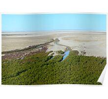 Aerial view en route to Karumba Poster