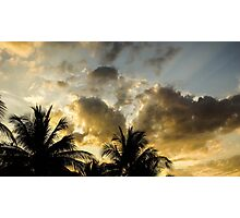 Tropic Clouds Photographic Print