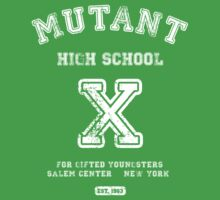 Mutant High School (Dark Colours Version) One Piece - Short Sleeve