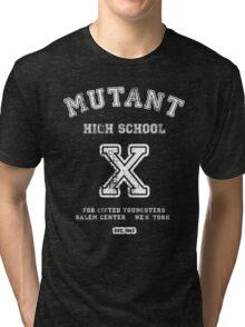 Mutant High School (Dark Colours Version) Tri-blend T-Shirt