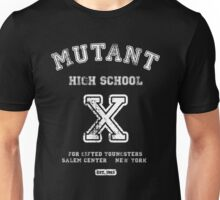 Mutant High School (Dark Colours Version) Unisex T-Shirt