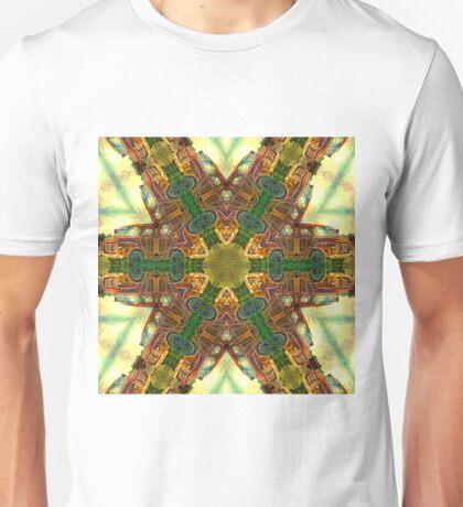 Magnificent kaleidoscope of rusty trucks Unisex T-Shirt