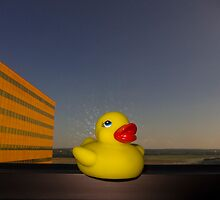 Rubber Ducky Hero by ozwille