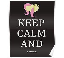 My Little Pony - Keep Calm and - Fluttershy Poster