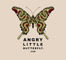 Angry Little Butterfly (TM) - Rattler Wings w/ Dark Text Unisex T-Shirt