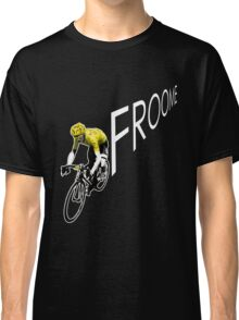 Chris Froome Tour de France 2013 Winner Sky Cycling Classic T-Shirt