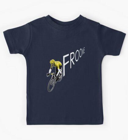Chris Froome Tour de France 2013 Winner Sky Cycling Kids Tee