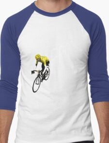 Chris Froome Tour de France 2013 Winner Sky Cycling Men's Baseball ¾ T-Shirt