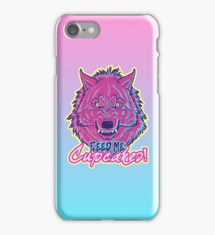 """Feed Me Cupcakes!"" iPhone Case iPhone Case/Skin"