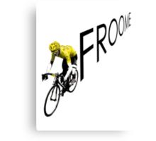 Chris Froome Tour de France 2013 Winner Sky Cycling Canvas Print