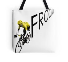 Chris Froome Tour de France 2013 Winner Sky Cycling Tote Bag