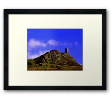 Church on a hill Framed Print