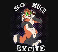 SO MUCH EXCITE!-Male-Dark Ver Unisex T-Shirt