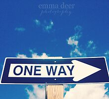 One Way by Emma Deer Photography