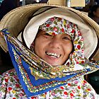 Market Seller, Hoi An, Vietnam by Julie Sleeman
