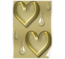 ✿♥‿♥✿SOMETIMES PEOPLE HAVE HEARTS OF GOLD..BUT SOMETIMES THEY CRY✿♥‿♥✿ Poster