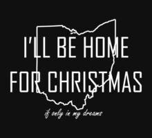 Home for Christmas (Ohio) Kids Tee