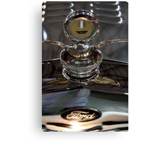 Ford radiator cap Canvas Print