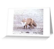 Crafty Fox Greeting Card