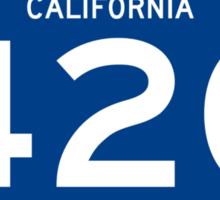 HIGHway 420 - California Sticker