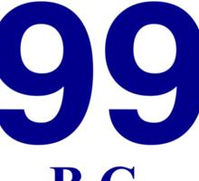 British Columbia 99 - Sea to Sky Sticker