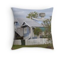 ''Old Queenslander' House, 'Monto' country town, Queensland. Throw Pillow