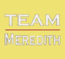 Grey's Anatomy - Team Meredith One Piece - Short Sleeve