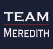 Grey's Anatomy - Team Meredith Kids Tee