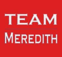 Grey's Anatomy - Team Meredith Baby Tee