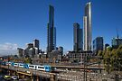 Southbank From Flinders by Vince Russell