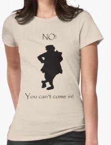 Bilbo NO! Womens Fitted T-Shirt