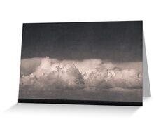 earth sky Greeting Card