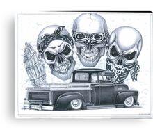 Three Stooges Canvas Print
