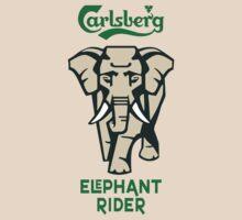 CARLSBERG - Elephant Rider by haegiFRQ