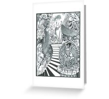 GATE TO HELL Greeting Card