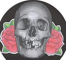Skull & Rose by Emily Perry