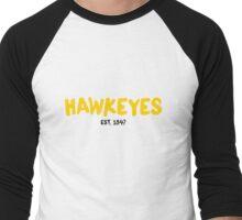 Hawkeyes - Est 1847 Men's Baseball ¾ T-Shirt
