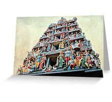 Sri Mariamman Temple Greeting Card